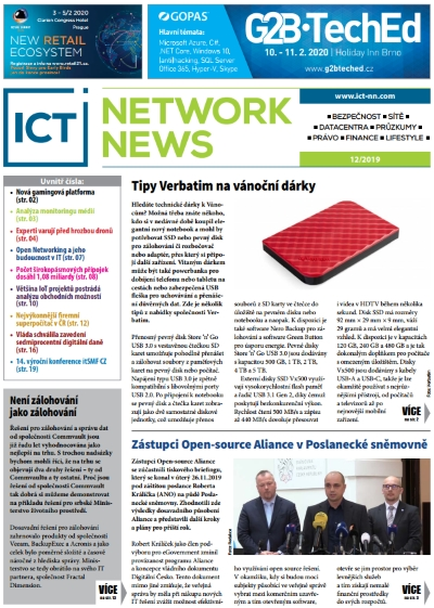 ICT NETWORK NEWS 12-2019 cover