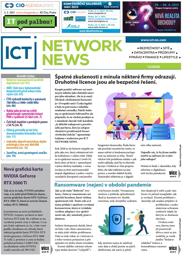 ICT NETWORK NEWS 12-2020 cover