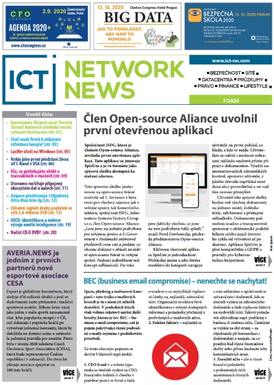 ICT NETWORK NEWS 2020-7 cover