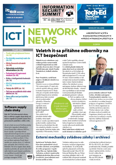 ICT NETWORK NEWS 5 2019 interaktivni pdf magazin AVERIA cover
