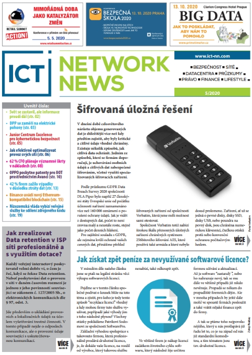 ICT NETWORK NEWS 2020-5 cover