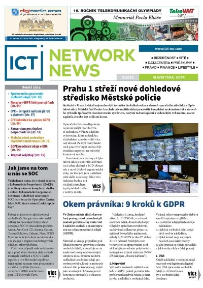 ICT NETWORK NEWS 5-2018